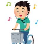 """イヤホンをして自転車に乗る歩くは""""迷惑""""をかける【接触事故】"""