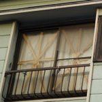 【窓】台風19号対策からガムテープを剥がしていない人が多いと話題